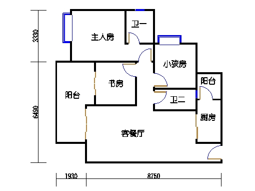 12栋6-16层02单元