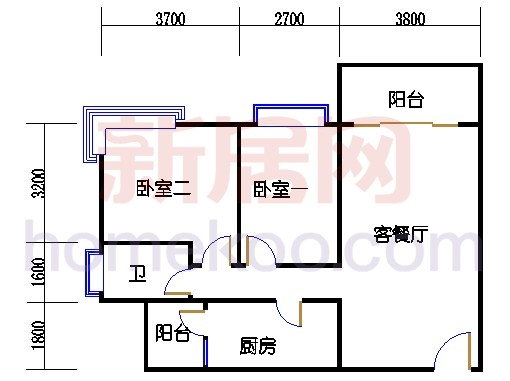 A栋三层03单元