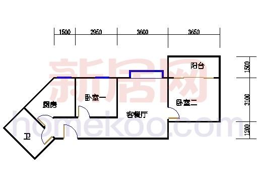 C栋8-30层01单位