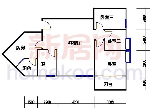 C栋8-30层02单位