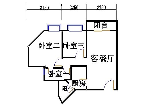 F22栋2-32层03单位