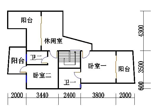 A1型复式洋房上层