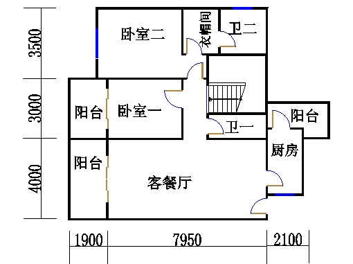 1、5栋11层03单位