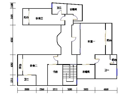 B1单元复式二层