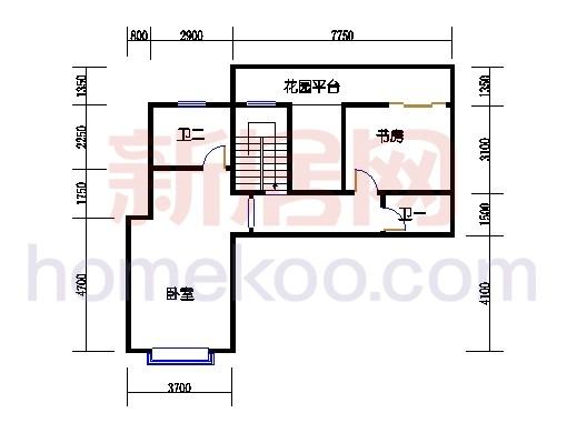 壅华廷28栋复式01房上层