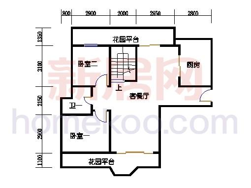 壅华廷28栋复式01房下层