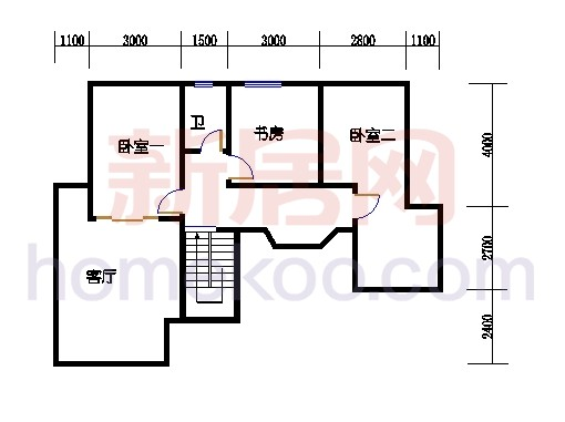 壅华廷35栋复式01房上层