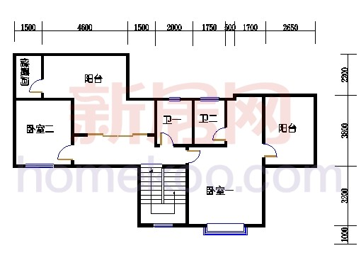 壅华廷Y30复式05房上层