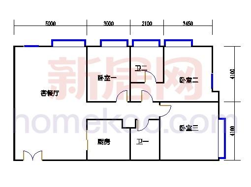 三居公寓A