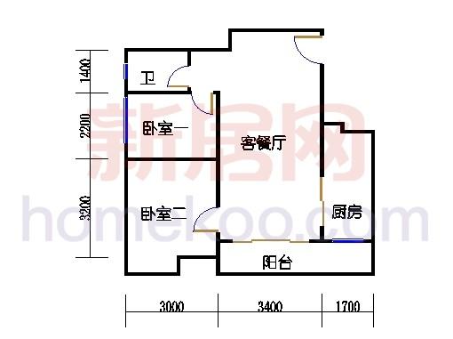 倚翠轩2-9层D