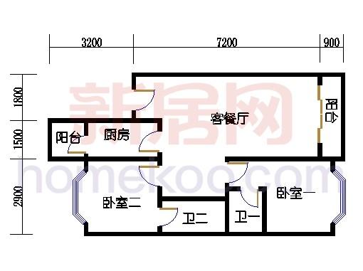 富丽园第六栋三至七层F306