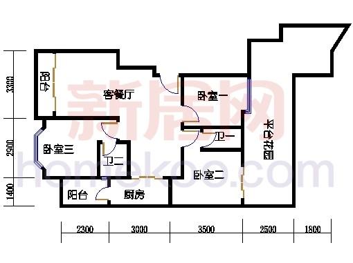富丽园第五栋二层F203