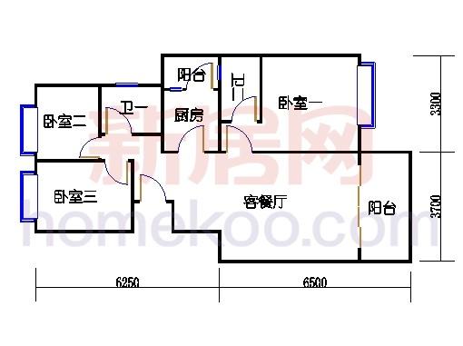 1C-A-B02房