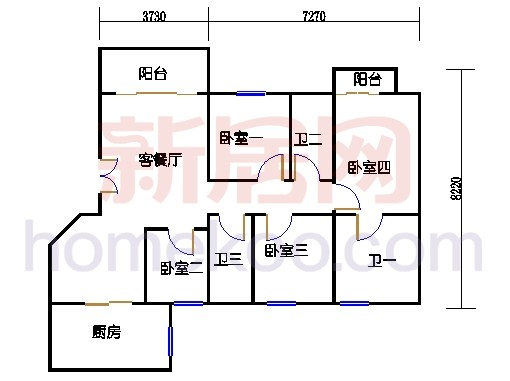 凤盈苑D2-19座03单位