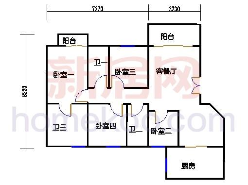 凤盈苑D2-11座08单位