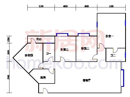 B座6-23层01单位