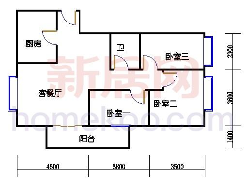 东座3-9层01单元