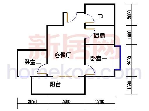 东座3-9层03A单元