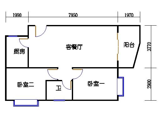 东座3-9层12单元