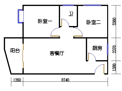 东座3-9层13单元