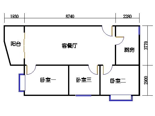 东座3-9层15单元