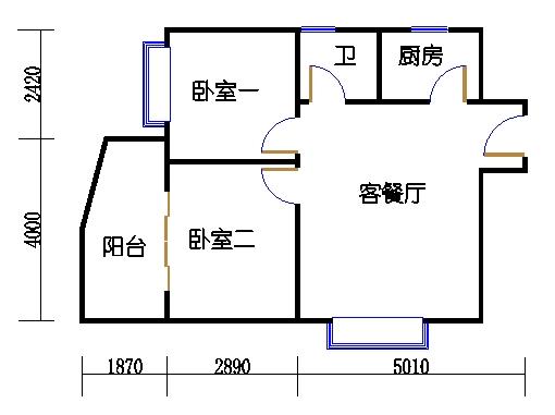 49号楼A户型