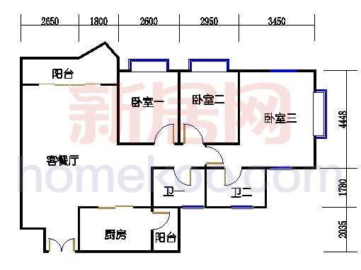 4栋7-13层01单元