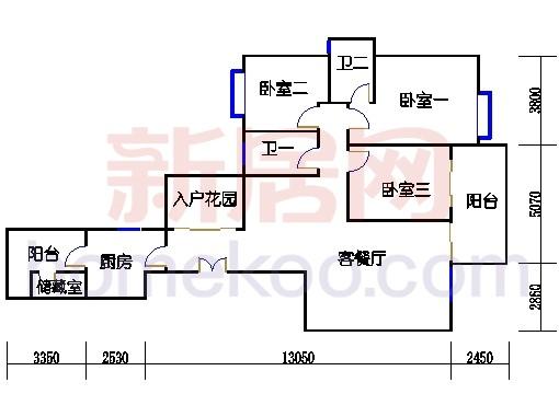 峰逸轩4-41层01单位