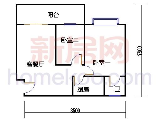 恋日100(索丽苑)第八梯三至九层02单位