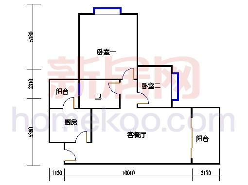 B5-4(4-25层)02单位