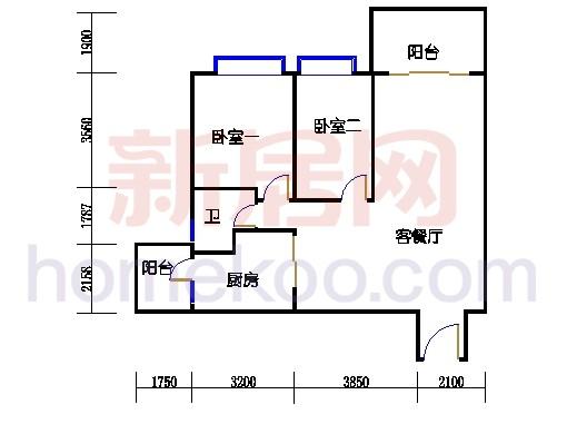 B5-5(4-25层)层04单位