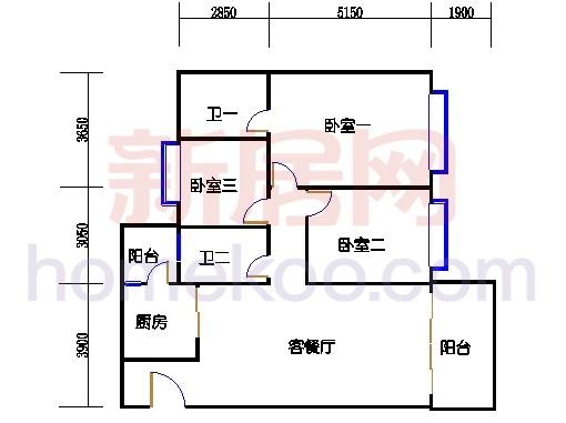 B5-5(4-25层)层05单位