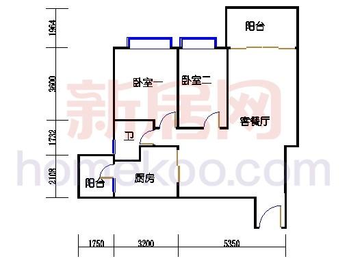B5-5 (26层)04单位