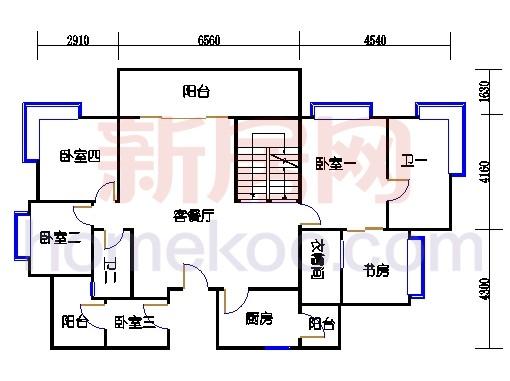 B5-5(26层)02单位