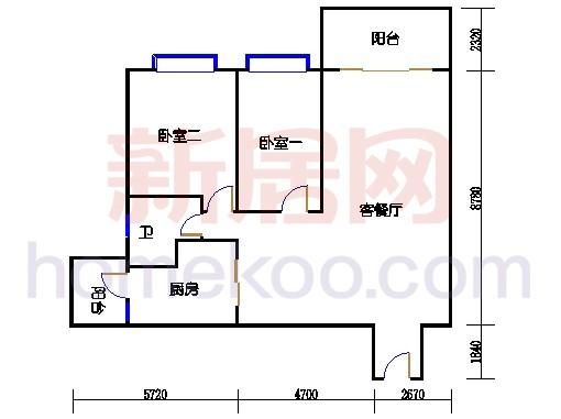 B5-5(26层)04单位