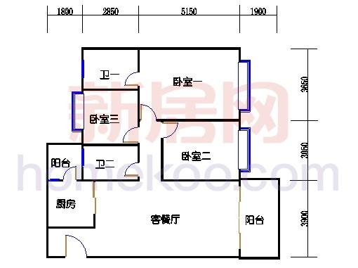 B5-6(4-25层)05单元