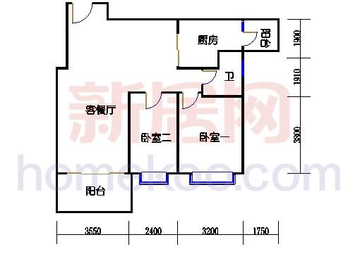 B5-6(26层)04单元
