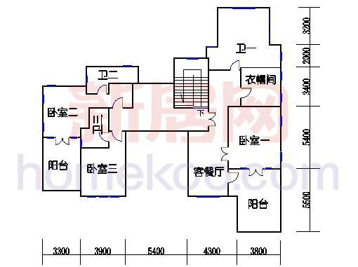 御墅L-2型二层