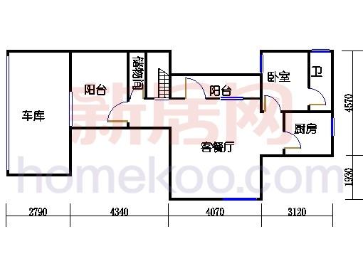 尚墅M-6(F)型地下层