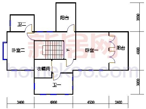 美墅TH2型二层