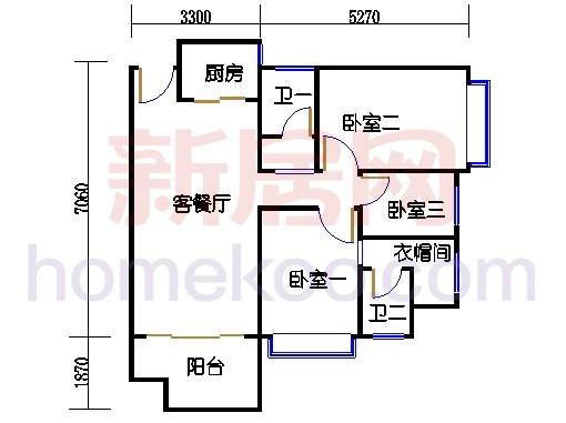 2-15层03户型