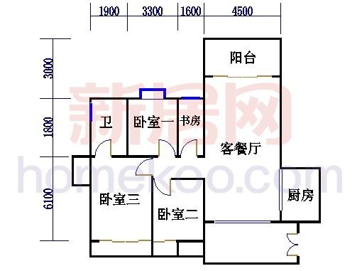 B座(兰花阁)03房