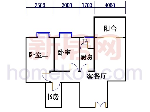 B座(兰花阁)06房