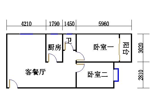十四-十二层E户型