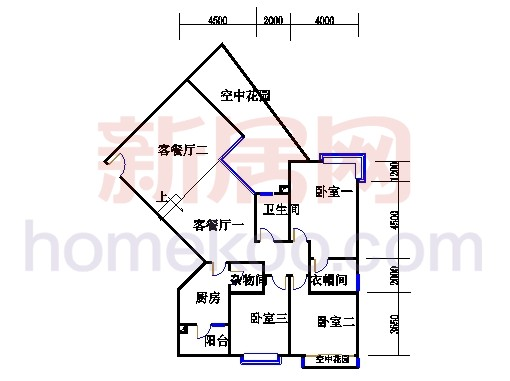 滨江东A栋5-21层04单位
