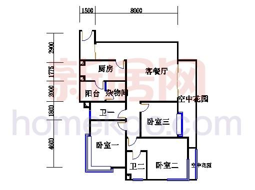 滨江东B栋5-21层01单位