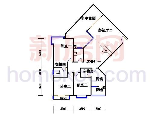 滨江东B栋5-21层02单位
