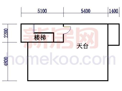 B型联排依水别墅天面平台
