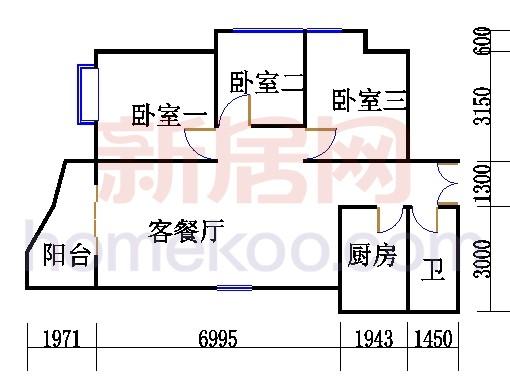 H2栋6-28层05单元