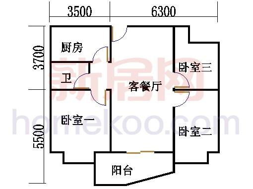 G30栋2-34层01单位